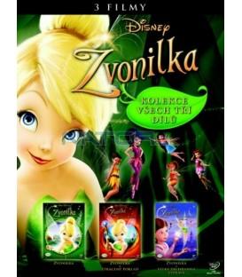 Kolekce: Zvonilka 3 DVD - SK/CZ dabing