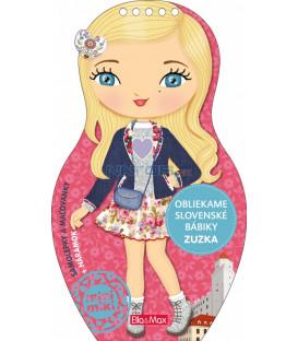 Obliekame slovenské  bábiky ZUZKA – Maľovanky