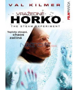 Vražedné horko (The Steam Experiment) DVD