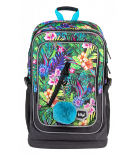 BAAGL Školský batoh Cubic Tropical