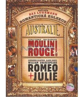 3 BD: Austrálie + Moulin Rouge + Romeo a Julie (Baz Luhrmann kolekce)  3 Blu-ray + CD