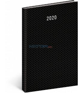 Denný diár Magnus čierny 2020, 21 × 29,7 cm