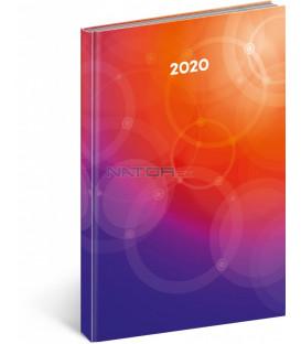 Denný diár Magnus farebný 2020, 21 x 29,7 cm
