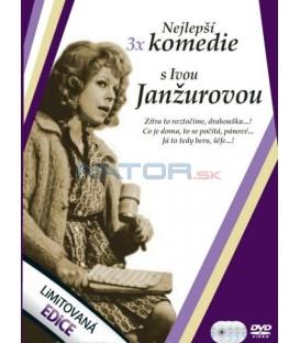 Nejlepší komedie s Ivou Janžurovou 3DVD
