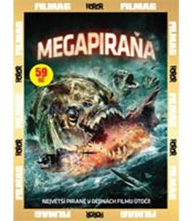 Megapiraňa (Mega Piranha) - SLIM BOX