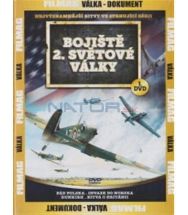 Bojiště 2. světové války - 1. DVD (Fall of Poland / The Invasion of Norway / Dunkirk / Battle of Britain)
