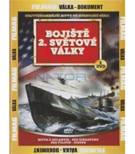 Bojiště 2. světové války - 3. DVD (Battle of the Atlantic / Fall of Singapore / Fall of the Philippines / Dieppe)