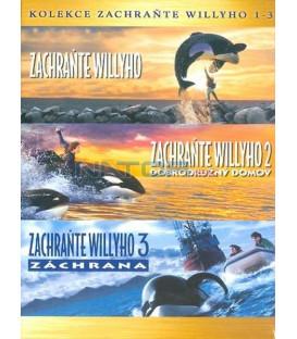 Zachraňte Willyho kolekce 3DVD  (Free Willy Collection)