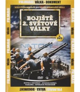 Bojiště 2. světové války - 4. DVD (Battle of Midway / Guadalcanal / Tarawa / Operation Torch)
