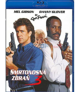 Smrtonosná zbraň 3 - Blu-ray (Lethal Weapon)