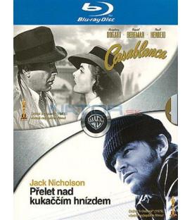 Přelet nad kukaččím hnízdem + Casablanca-Blu-ray dvojbalení