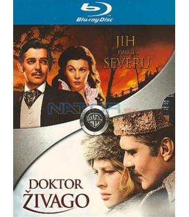 Jih proti severu + Dr. Živago-Blu-ray dvojbalení
