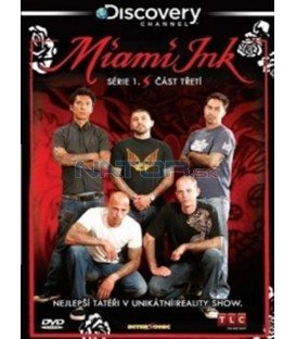 Miami Ink - série 1 - disk 3 (Miami Ink) DVD