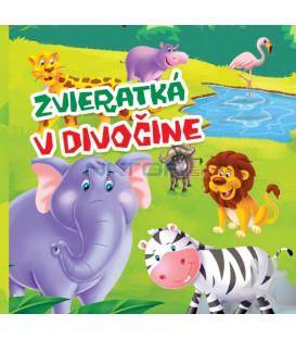 Kniha Zvieratká v divočine - malé leporelo