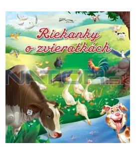 Kniha Riekanky o zvieratkách