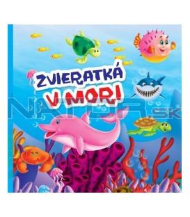 Kniha Zvieratká v mori - malé leporelo