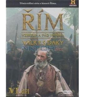 Řím VI. díl - Vzestup a pád impéria - Války s Dáky (Rome: Rise and Fall of an Empire) DVD