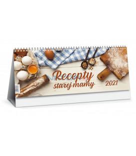 Stolový kalendár Recepty starej mamy 2021
