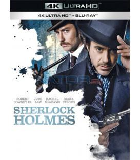 Sherlock Holmes 2009 (Sherlock Holmes) (4K Ultra HD) - UHD Blu-ray + Blu-ray