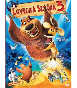 Lovecká sezóna 3 SK/CZ dabing - animovaná rozprávka (Open Season 3) DVD