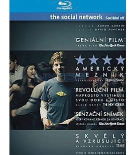 Sociální síť 2 x Blu-ray (The Social Network)