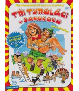 Tři Tyroláci v Bangkoku (Was treibt die Maus im Badehaus) DVD