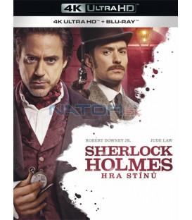 Sherlock Holmes: Hra stínů 2011 (Sherlock Holmes: A Game of Shadows) (4K Ultra HD) - UHD Blu-ray + Blu-ray