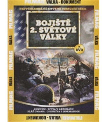 Bojiště 2. světové války - 7. DVD (Arnhem / Battle of the Bulge / Omaha Beach / Breakout from Normandy)