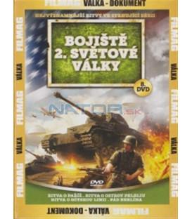 Bojiště 2. světové války - 8. DVD (Battle for Paris / Battle of Peleliu Island / Battle of the Gothic Line / The Fall of Berlin)