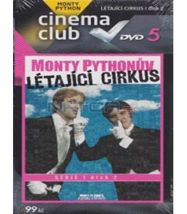 Monty Python - DVD 5 - Monty Pythonův létající cirkus - série 1 - disk 2 (Monty Pythons Flying Circus I. DVD 2)
