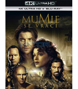 Mumie se vrací 2001 (The Mummy Returns) (4K Ultra HD) - UHD Blu-ray + Blu-ray