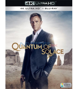 Quantum of Solace 2008 (Quantum of Solace) (4K Ultra HD) - UHD Blu-ray + Blu-ray