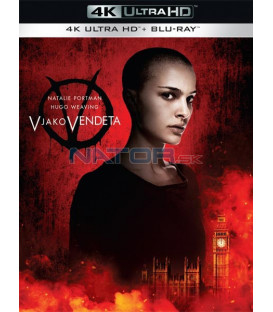 V jako Vendeta 2005 (V for Vendetta) (4K Ultra HD) - UHD Blu-ray + Blu-ray