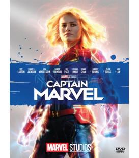 CAPTAIN MARVEL 2019 (Captain Marvel) DVD Edice Marvel 10 let