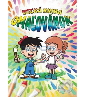 Veľká kniha omaľovánok (deti)