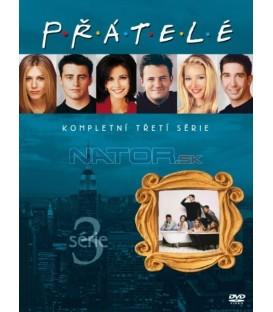 Přátelé - Kompletní 3. sezóna 4 DVD