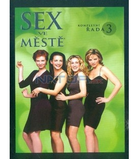 Sex ve městě - kompletní 3. série 3 DVD - CZ dabing