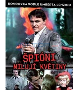 Špióni milují květiny (Le spie amano i fiori) DVD