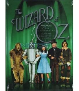 Čaroděj ze země Oz: Čtyřdisková sběratelská edice (4 DVD)  (Wizard of Oz UCE (70th Anniversary) (4 DVD))