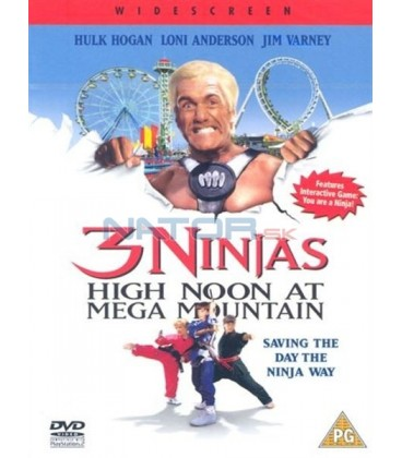3 nindžové v zábavním parku (3 Ninjas: High Noon at Mega Mountain)