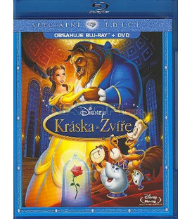 Kráska a zvíře SE Blu-ray +DVD (Combo Pack) (Beauty and the Beast - Special Edition BD+DVD (Combo Pack)