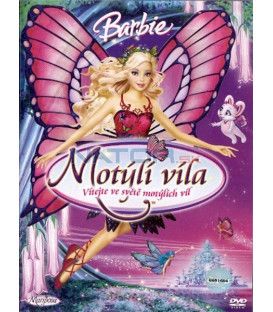 Barbie: Motýlí víla (Barbie Mariposa and Her Butterfly Fairy Friends) DVD