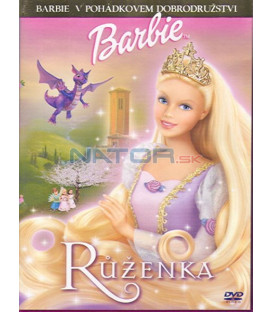 Barbie Růženka (Barbie as Rapunzel) DVD