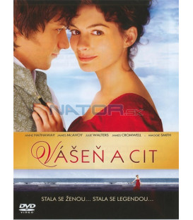 Vášeň a cit (Becoming Jane) DVD