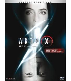 Akta X - film + Akta X: Chci uvěřit 2 DVD