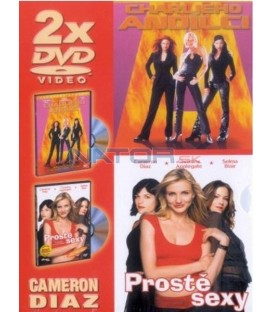 Cameron Diaz-Charlieho andílci/Prostě sexy -2DVD (Charlies Angels / The Sweetest Thing)