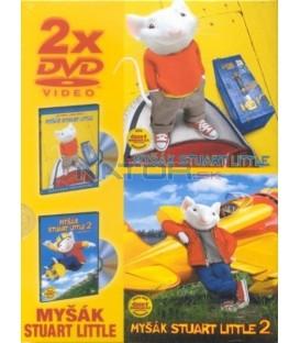 Myšák Stuart Little 1 + 2-2DVD (Stuart Little/Stuart Little 2)