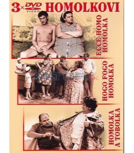 HOMOLKOVI 3 x DVD