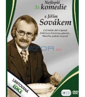 Nejlepší komedie s Jiřím Sovákem 3DVD