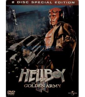 Hellboy 2: Zlatá armáda S.C.E. Steelbook 2 DVD (Hellboy 2: The Golden Army)